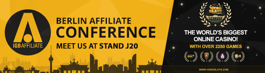 Videoslots.com to attend the Berlin Affiliate Conference 2017 – Meet us at STAND J20