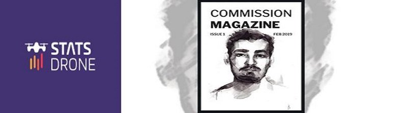 Congratulations our affiliate John Wright – the first edition of the Commission Magazine is out now!