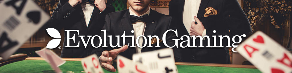 Videoslots launches the world´s biggest Live Casino - Evolution Gaming!